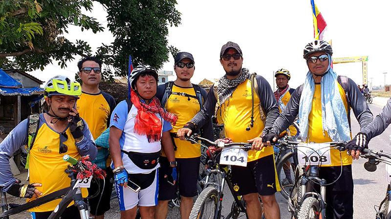 आठौं पटक टुर द लुम्बिनी