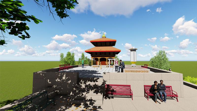 भैरवी मन्दिर पुनर्निर्माण हुँदै